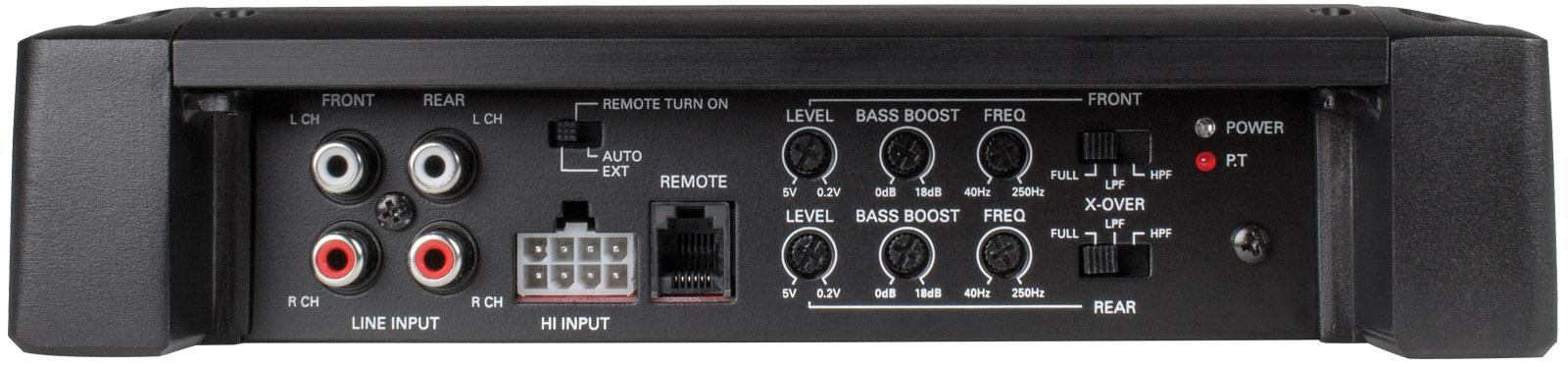 500-Watt RMS 4-Channel Class A/B Amplifier