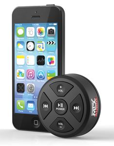 MUDBTRC Bluetooth Remote Control/Receiver Size Comparison