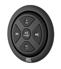MUDBTRC Bluetooth Remote Control/Receiver Flush Mount