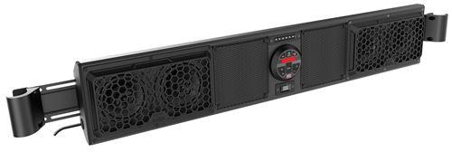 Mudsys46 Universal Bluetooth Overhead Powersports Audio