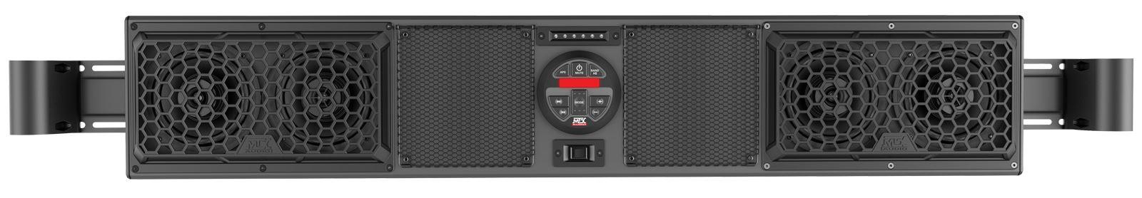 sound system for bar. mudsys46 overhead bluetooth utv sound bar front system for