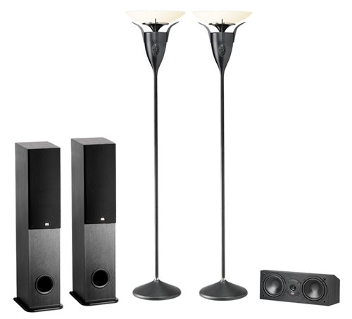 Picture of 5-Speaker Surround Sound System with Wireless Rear Speakers