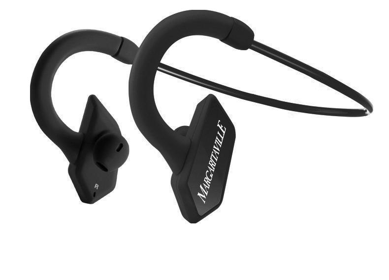 Mtx Margaritaville Audio Bluetooth Sport Buds Black