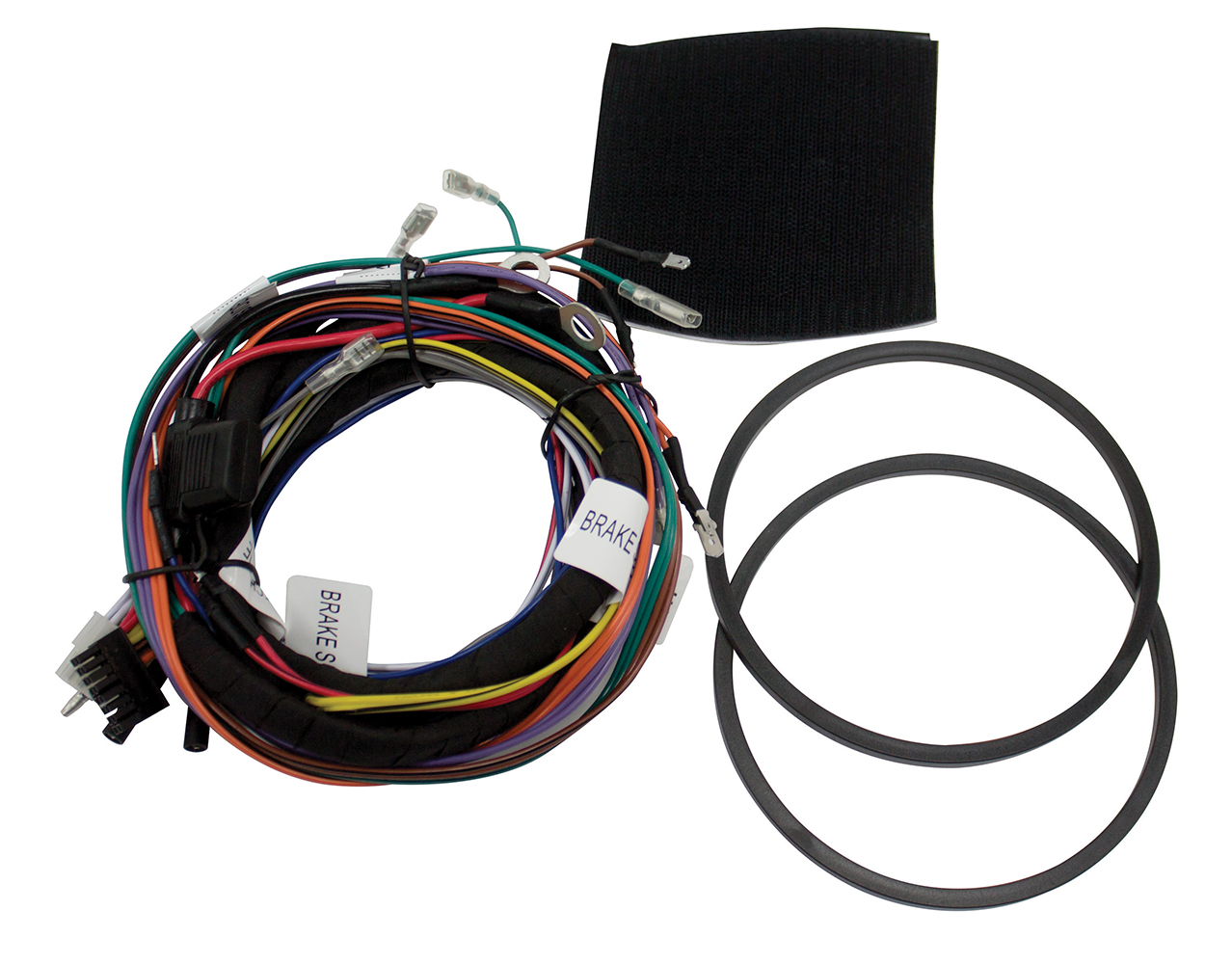 hdwh4 aftermarket 4 channel harley davidson wiring harness for use harley-davidson handle bar wiring harness hdwh4 aftermarket 4 channel harley davidson wiring harness for use with mud series 4 channel amplifiers mtx audio serious about sound®