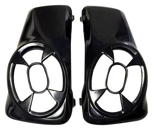Picture of Dirty Bird Concepts Saddlebag Lids for Harley Davidson Motorcycles 1998-2013