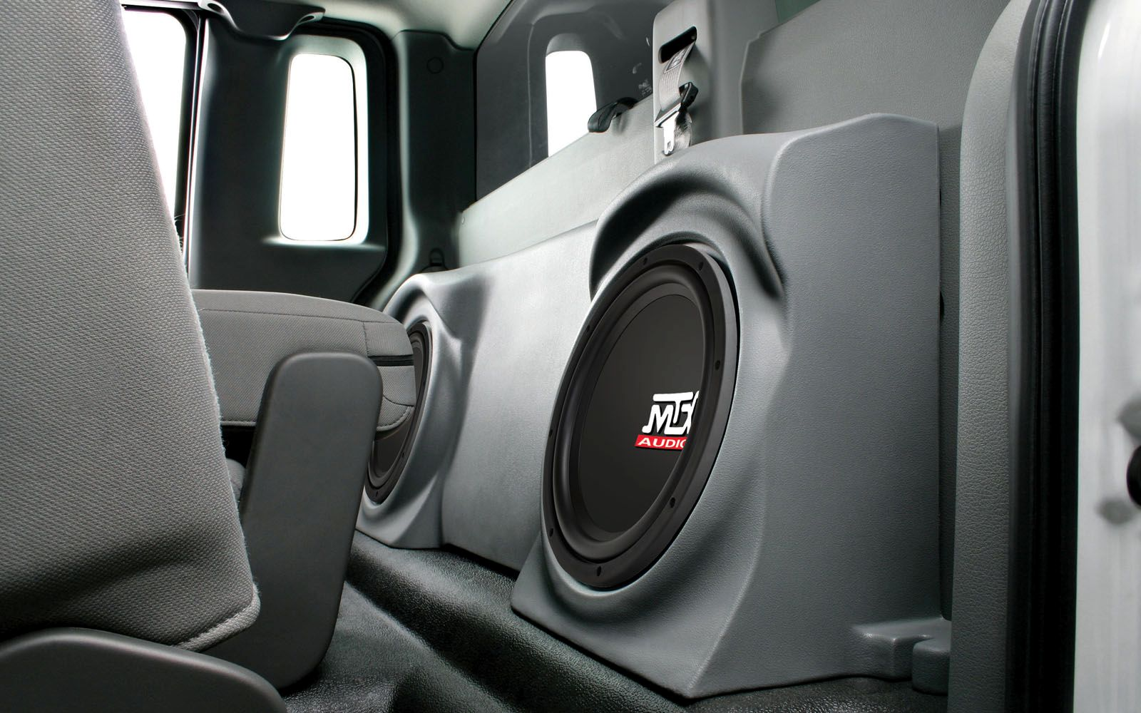 Ford F-150 Regular Cab 2004-2014 ThunderForm Custom Subwoofer Enclosure | MTX Audio - Serious ...