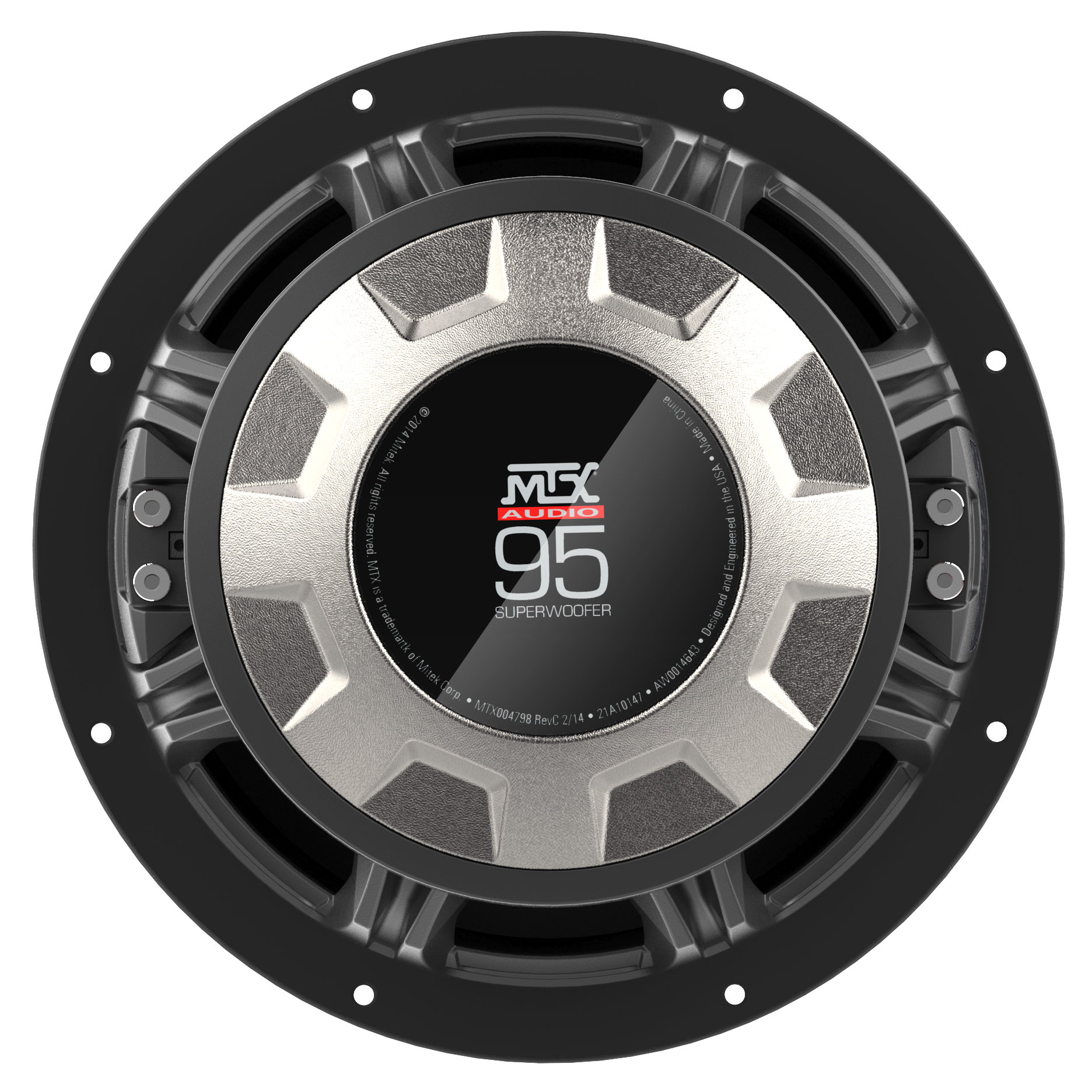 """95 Series 15"""" 2Ω Dual Voice Coil Subwoofer"""