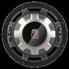 9515-22 Car Audio Subwoofer Back