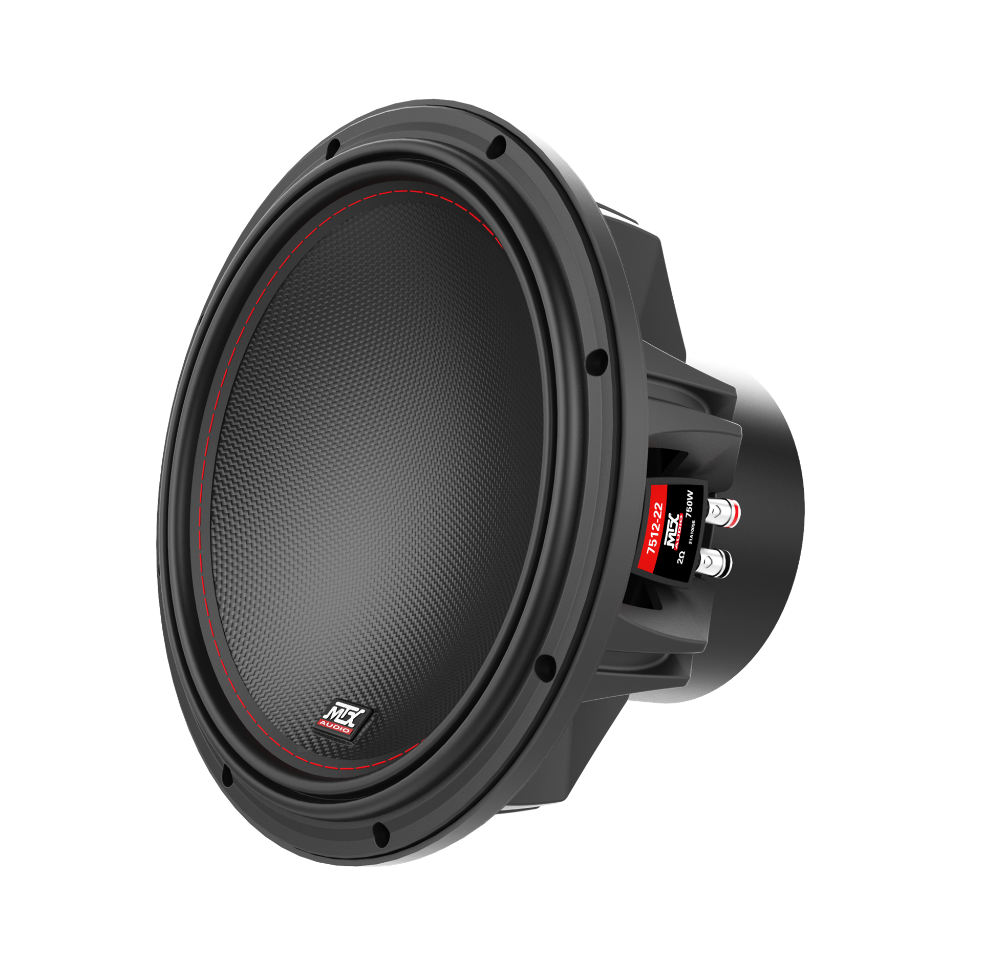 "75 Series 12"" 2Ω Dual Voice Coil Subwoofer 