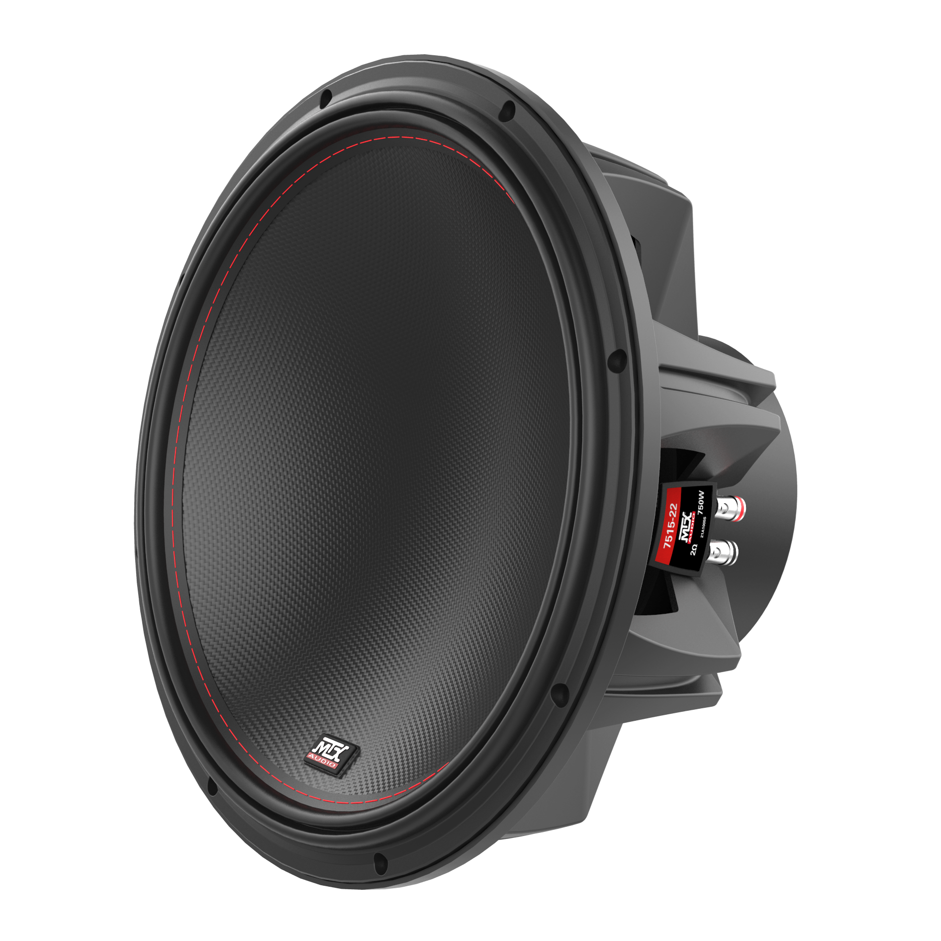 """75 Series 15"""" 2Ω Dual Voice Coil Subwoofer 
