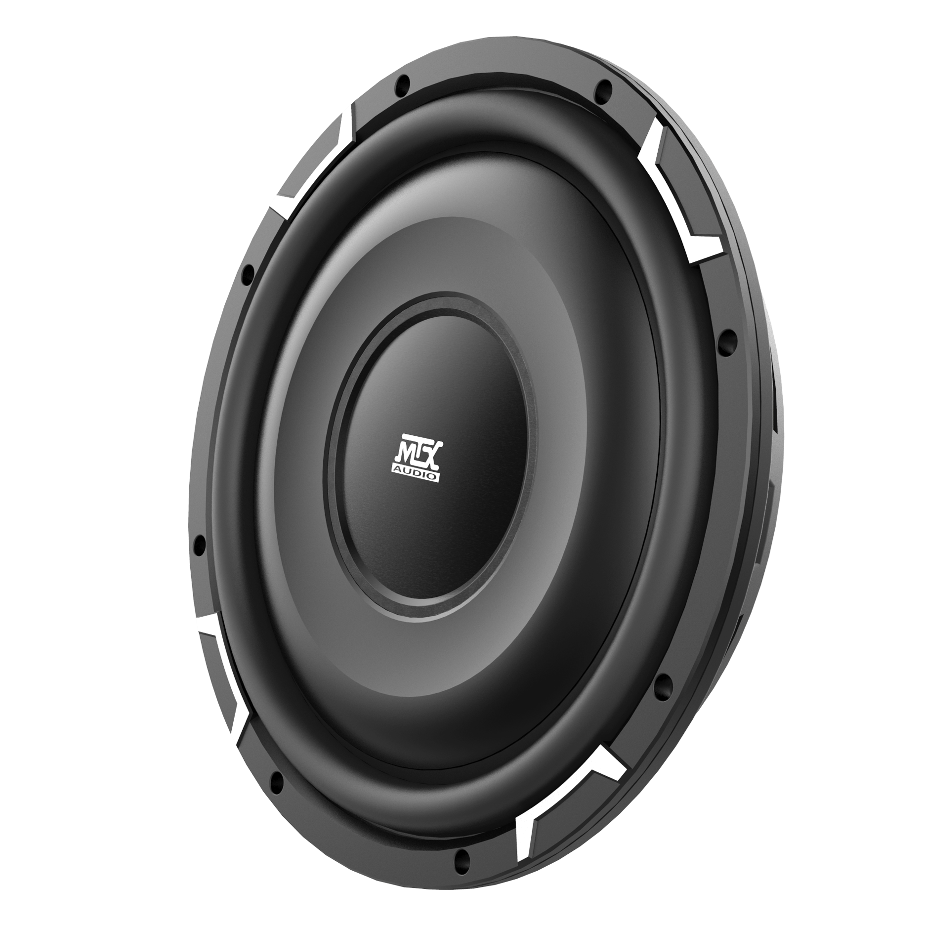 "FPR12-02 12"" Shallow Mount FPR Series 2-Ohm Single Voice Coil Subwoofer 