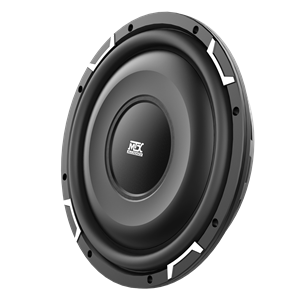 FPR12-02 Shallow Mount Car Subwoofer Front Angle