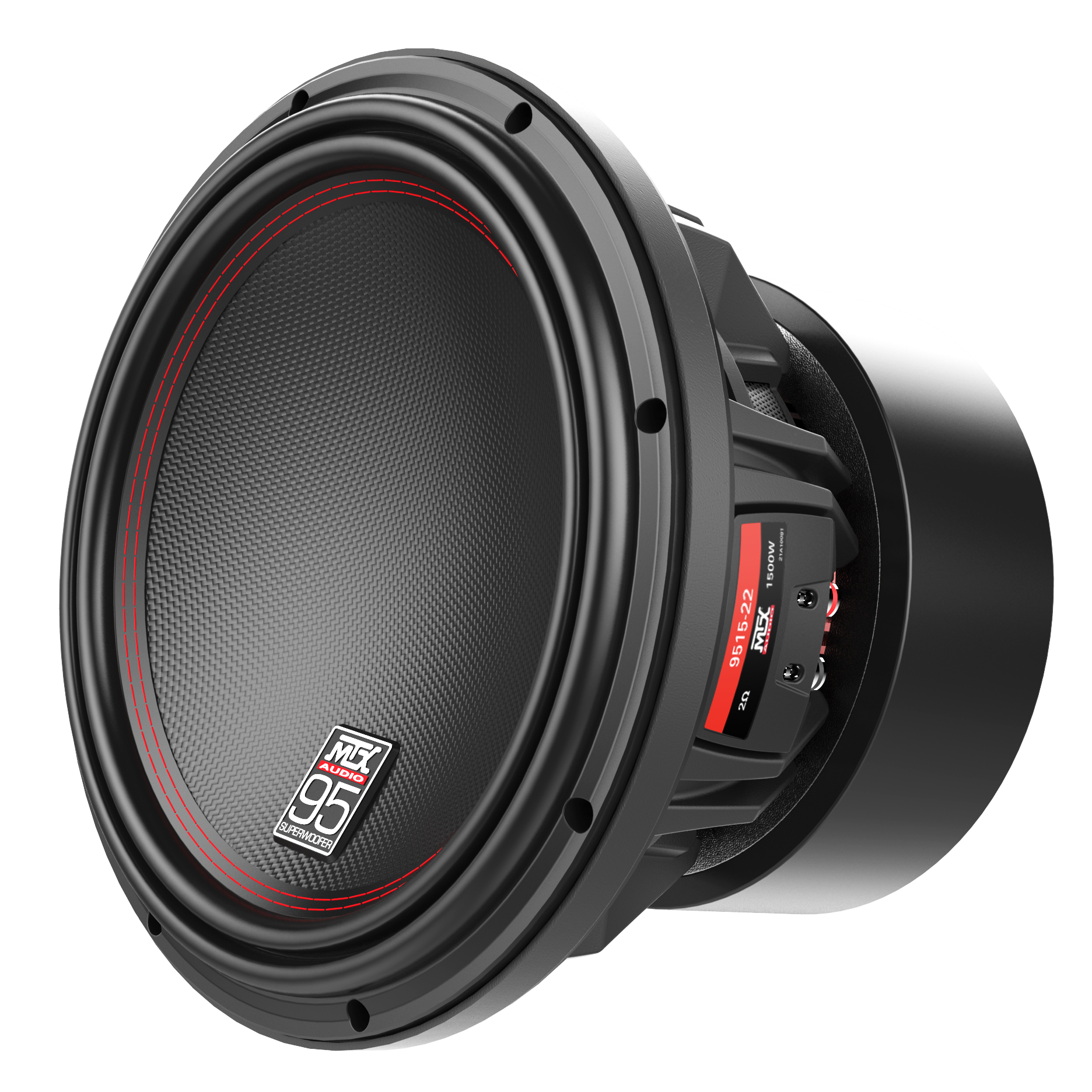 95 Series 15 2ω Dual Voice Coil Subwoofer Mtx Audio Serious