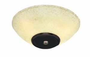 Picture of CSLK-73 Wireless Speaker Light Kit with Oil Rubbed Bronze Finish and Amber Scavo Glass