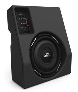 Picture of Toyota Tacoma Double Cab Amplified 10 inch 200W RMS Vehicle Specific Custom Subwoofer Enclosure