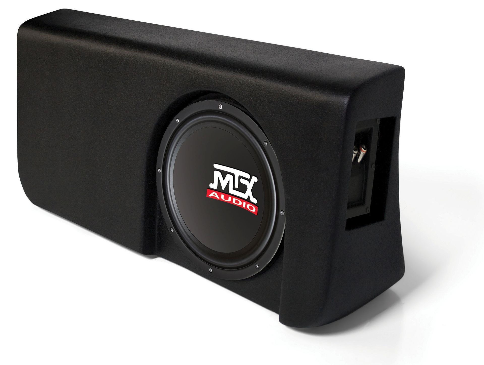 ford f-150 supercrew cab 2009-2015 thunderform custom subwoofer enclosure |  mtx audio - serious about sound�