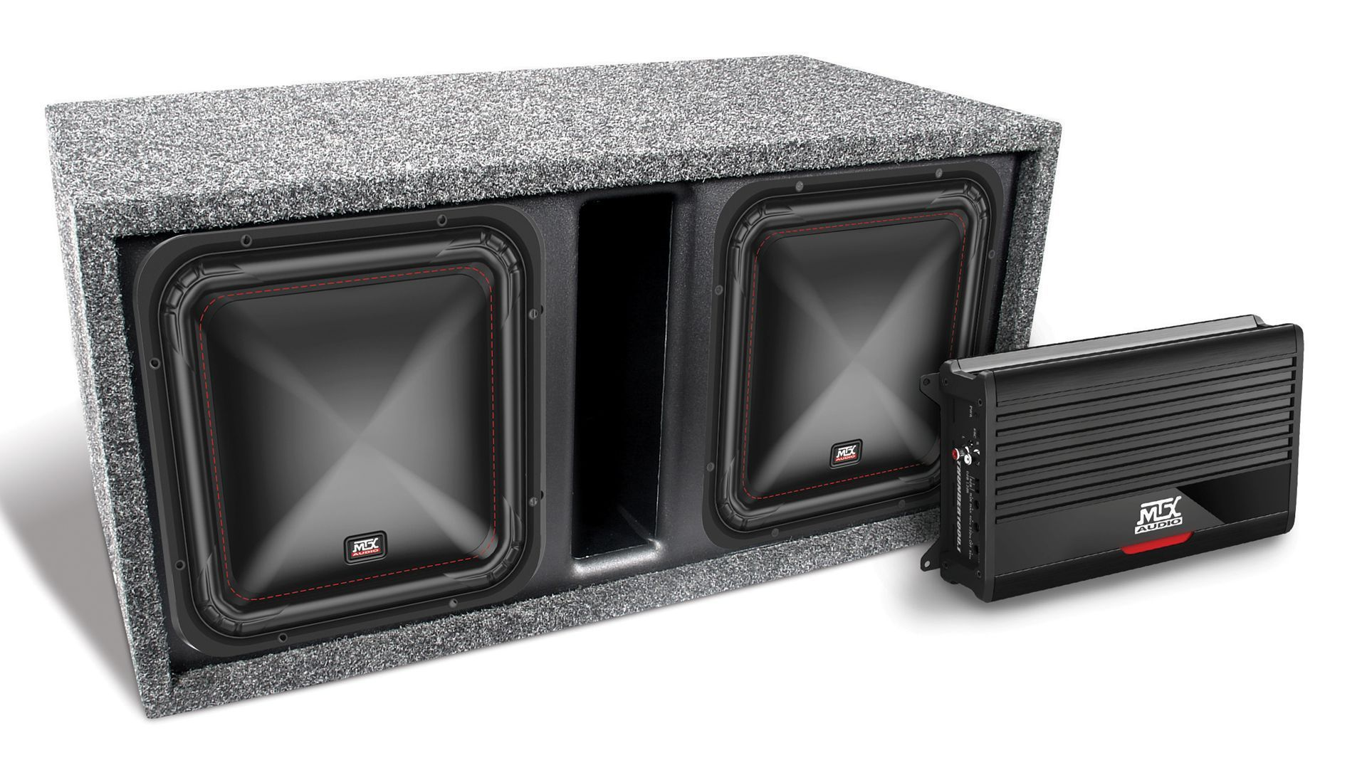 Dual S6510 44 Thunder500 1 And Vented Enclosure Bass