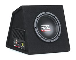 "MTX Audio Releases 8"" Powered Subwoofer Enclosure"