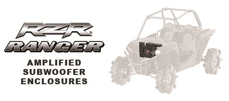 MTX Releases Polaris RZR & Ranger Amplified Subwoofer Enclosures