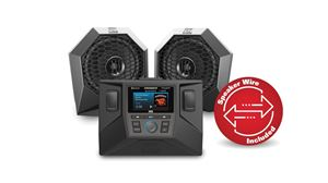 Picture of Two Speaker Polaris RZR Audio System