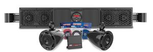 Picture of Polaris Ranger Bluetooth Overhead Audio Sound Bar with 2-Channel Amplifier and 2 Roll Cage Speaker System