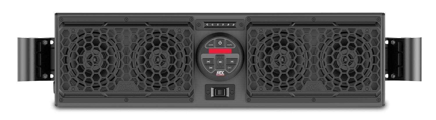 Rzrboakit3 Polaris Rzr Bluetooth Overhead Audio System