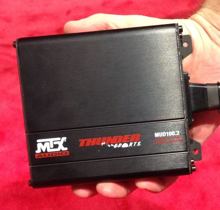 Kawasaki Teryx And Mule Bluetooth Sound Bar Amplifier