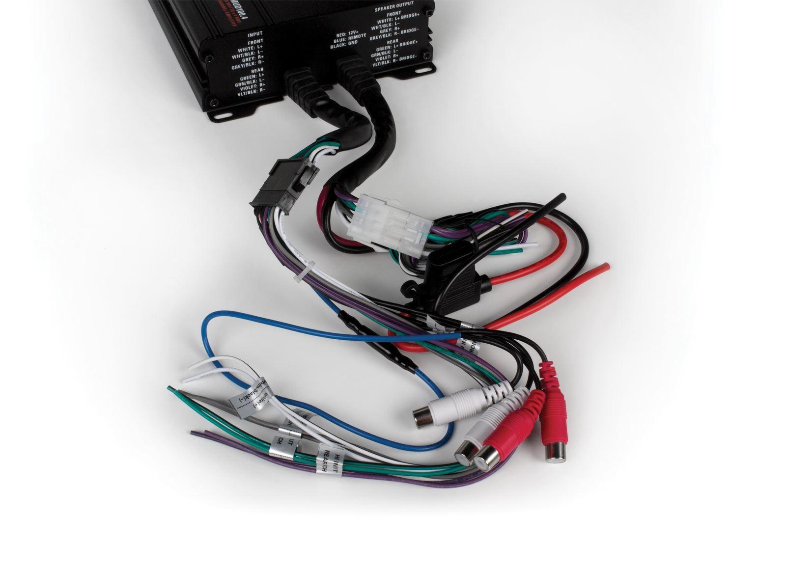 MUD Series 400-Watt 4-Channel Full Range Class D All Weather ...
