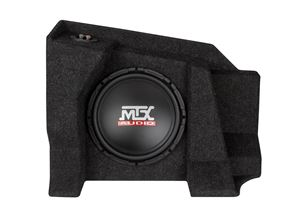 Picture of Chevrolet Silverado / GMC Sierra Extended Cab Amplified 10 inch 250W RMS Subwoofer Enclosure