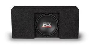 Picture of Ford F-150 Super Crew Cab Amplified 10 inch 250W RMS Vehicle Specific Custom Subwoofer Enclosure