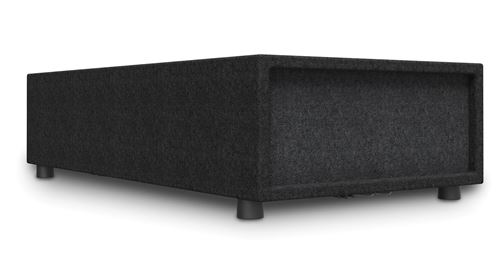 CTD SUB8 Low Profile Powered Subwoofer Angle