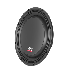 "Picture of 10"" 300-Watt RMS 4Ω Car Audio Shallow Subwoofer"