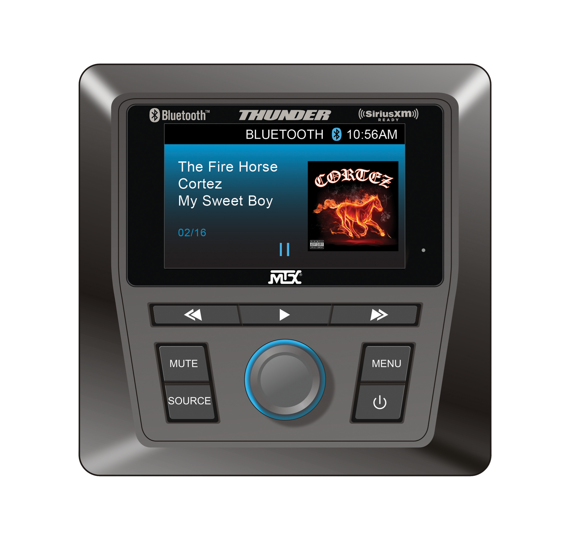Polaris Head Unit >> Rangersystem1 Level 1 Complete Audio System For Polaris Ranger With