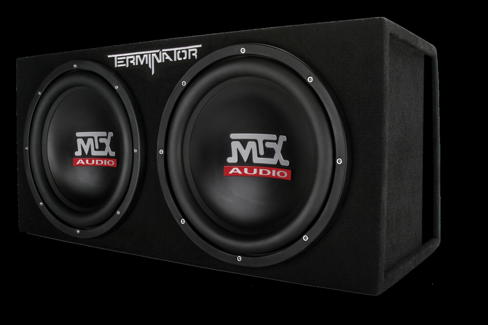 "TNP212DV Dual 12"" Subwoofer Enclosure And Amplifier Party"