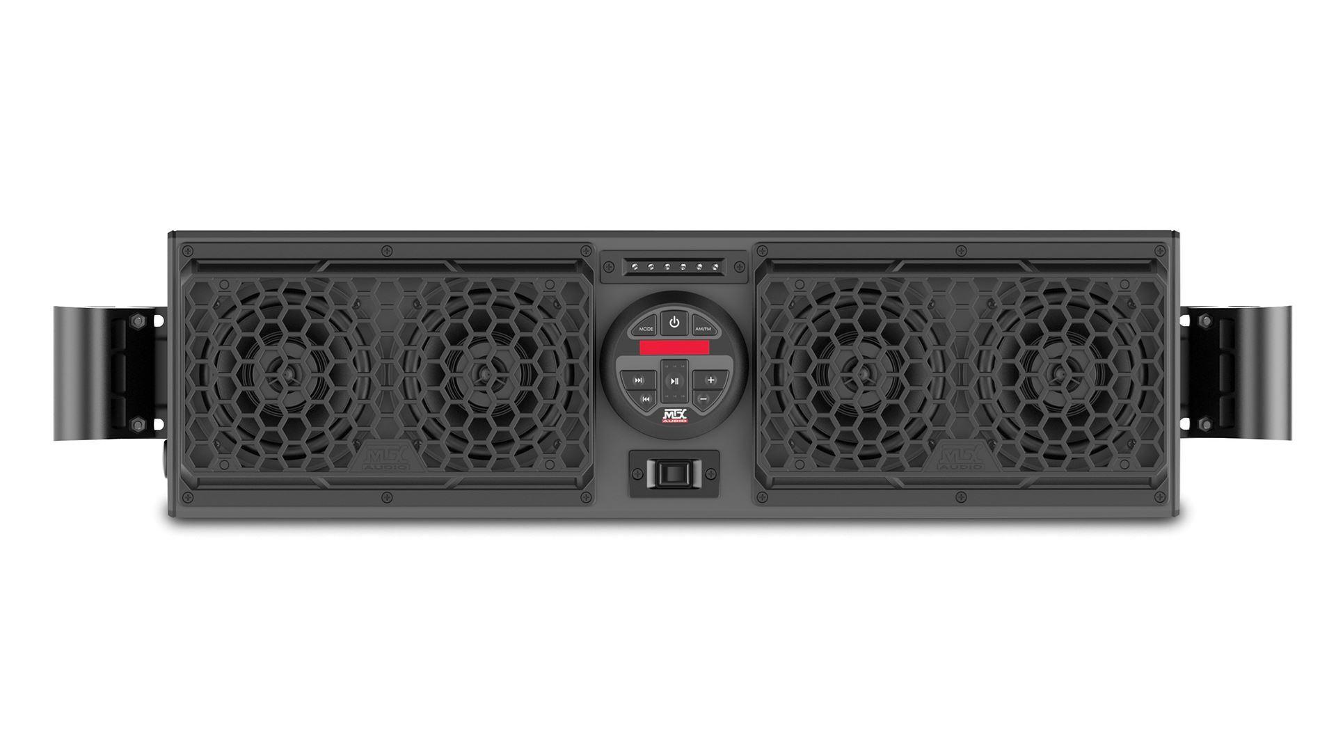Mudsys31 Universal Bluetooth Overhead Powersports Audio