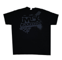 Picture of Black MTX Tire Tread T-Shirt - L