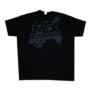 Picture of Black MTX Tire Tread T-Shirt