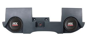 Picture of Dodge Ram Quad and Crew Cab Loaded Dual 10 inch 400W RMS 4 Ohm Vehicle Specific Custom Subwoofer Enclosure