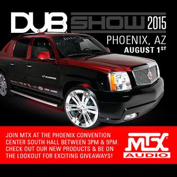 MTX Events MTX Audio Serious About Sound - Car show phoenix convention center