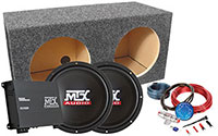 MTX Car Subwoofer Package