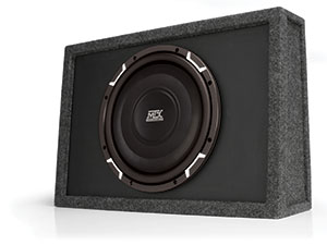 MTX FPR Shallow Car Audio Subwoofer