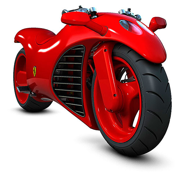 Another MTX Dream - Glinik Ferrari Bike