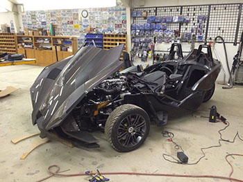 MTX Custom Polaris Slingshot custom work 2