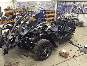 MTX Custom Polaris Slingshot custom work 5