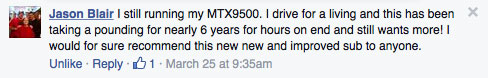 MTX FaceBook Comment pounding for nearly six years