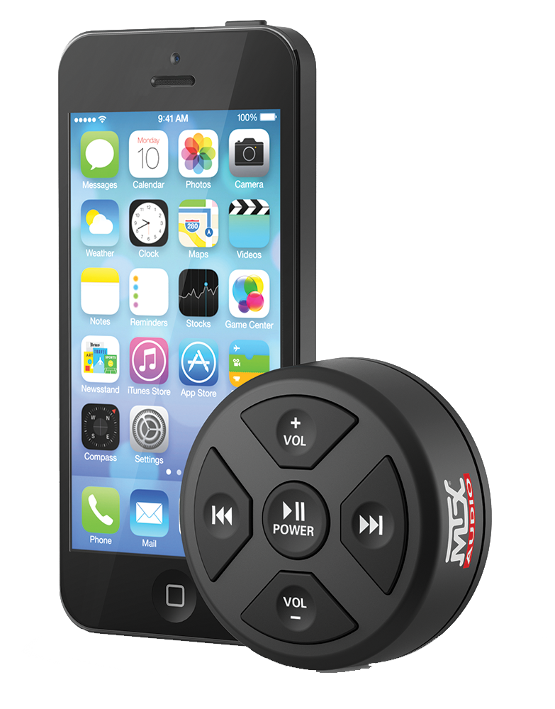 MTX MUDBTRC Bluetooth remote control with smart phone