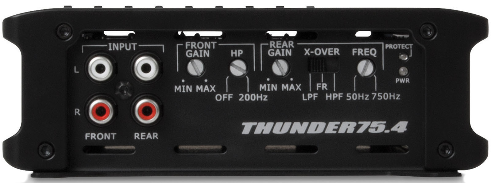 thunder series thunder754 400w rms 4 channel class ab amplifier