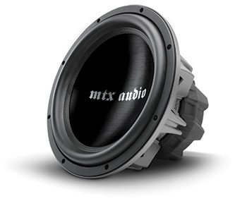 Mtx Thunder Round Tr75 Car Subwoofer Archive Mtx Audio Serious