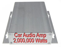 Exagerated Wattage Car Amplifier