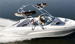 Wake Boat with MTX Audio